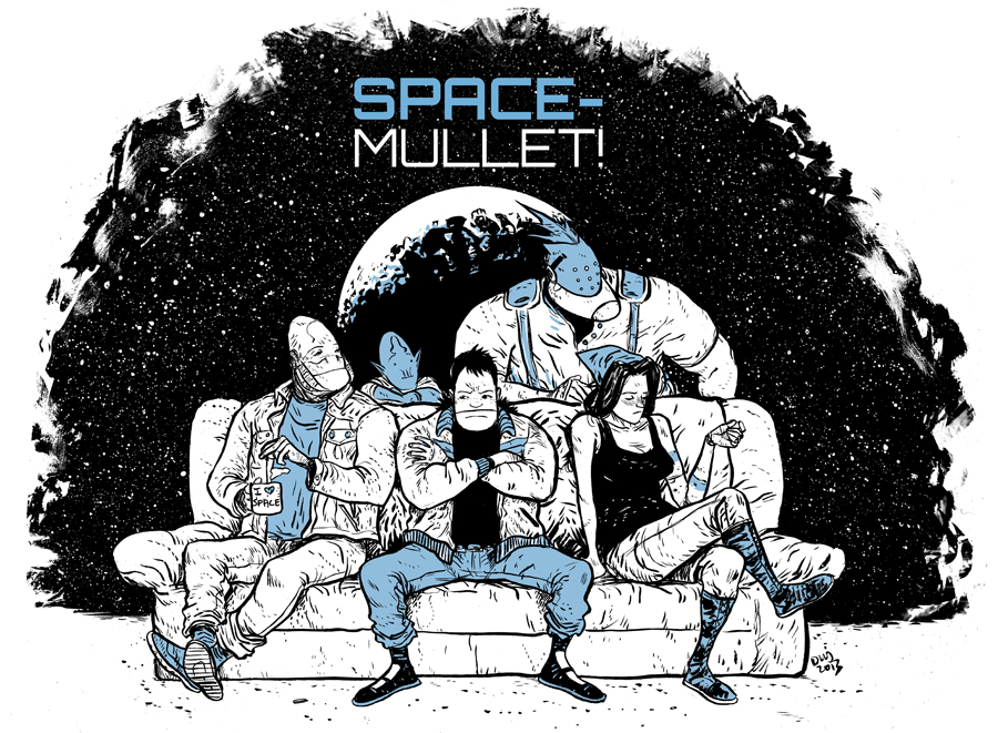 Space Mullet promo web